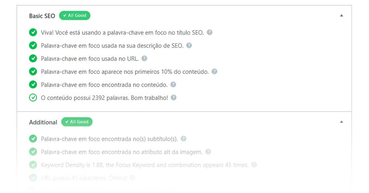 case de seo on page analise