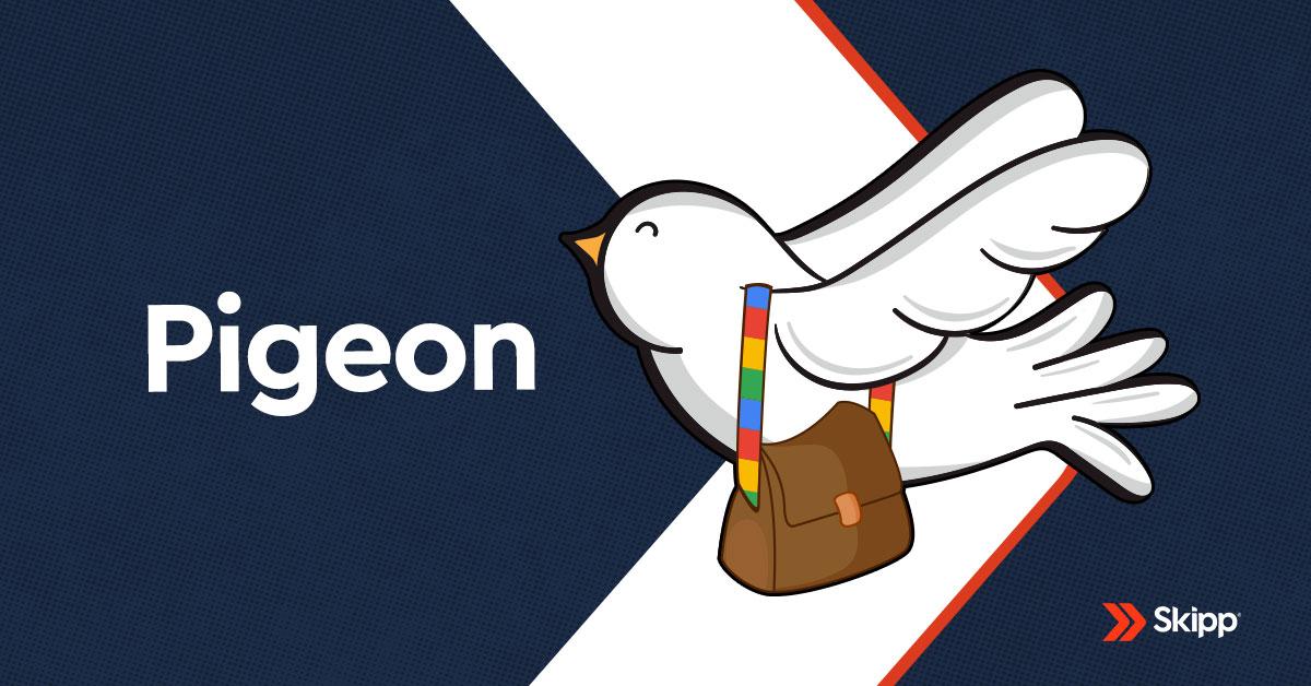 pigeon algoritmo do google